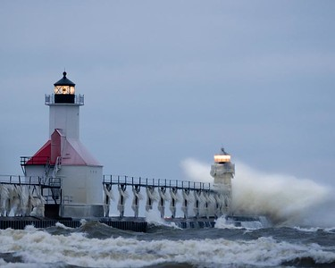 St. Joe Light on Christmas Eve Morning