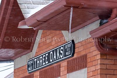 Three Oaks Train Station