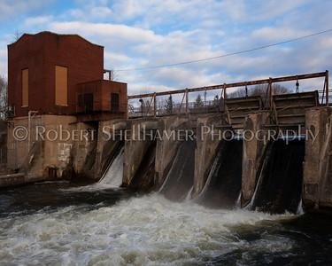 Dowagiac River Dam