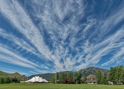 Summer Skies in Sun Valley, Idaho