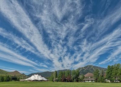 Summer Skies in Sun Valley, Idaho