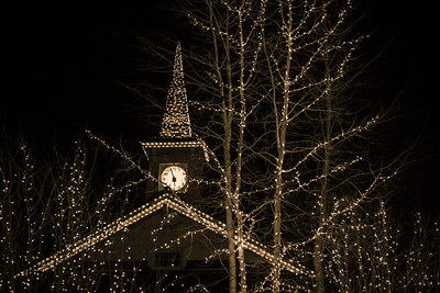 Holiday Lights, Sun Valley, Idaho