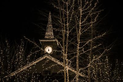 Holiday Lights, Sun Valley, Idaho