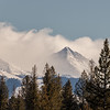 Cobb Peak and Wave Clouds, Sun Valley, Idaho