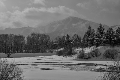 Sun Valley & Bald Mountain in Winter, Idaho