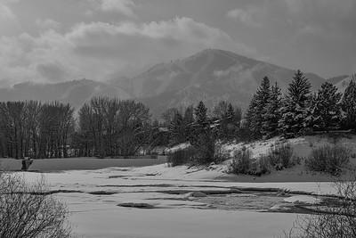 Sun Valley & Bald Mountain in Winter, Idaho