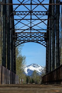 Union Pacific Bridge North to Sun Valley, Idaho
