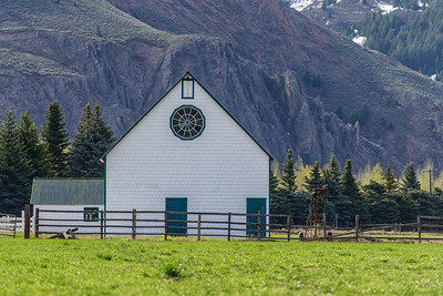 Reinheimer Ranch Barn, Sun Valley, Idaho