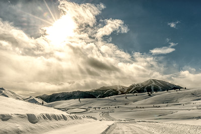 First Day of Winter Sun Valley, Idaho 2015