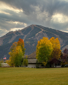 Fall in Sun Valley, Idaho
