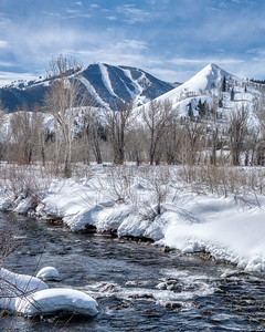 Winter in Sun Valley, Idaho