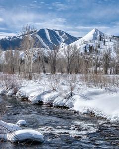 Winter in Sun Valley, Idaho
