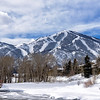 Sun Valley's Bald Mountain After The Storm