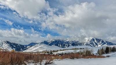 Sun Valley's Bald Mountain Winter Snow