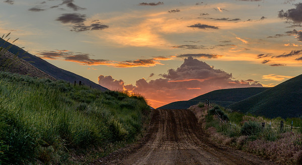 Idaho Sunrise, Quigley Canyon