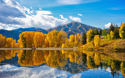 Fall Colors in Sun Valley, Idaho