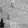 Wind Sculpturing Snow, Sun Valley, Idaho