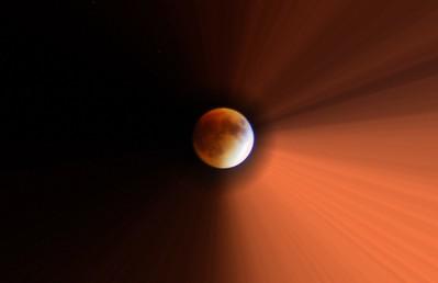 Super 'Blood Moon' Lunar Eclipse with Radiance, 2015