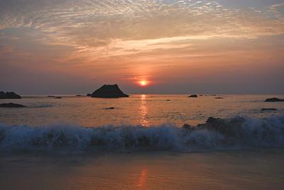 November Pacific Sunset