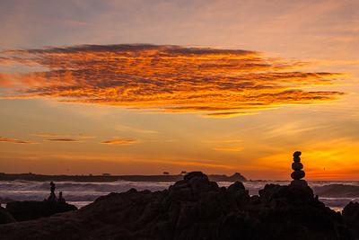 BK-Asilomar_Beach-Cairns_at_Dusk-111310-a