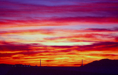 Sunset on SF Bay