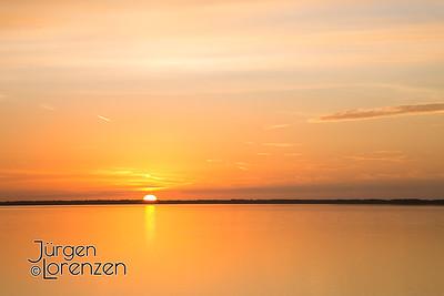 Sunrise over St Joseph Bay