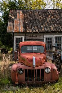 Vintage Truck, Wrens, SC.