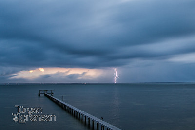 Lightning Storm over St. Joseph Bay
