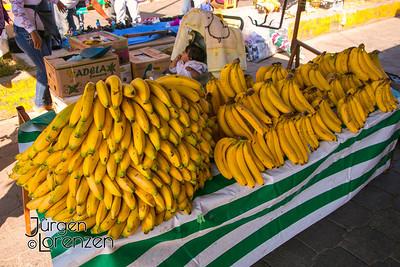 Etla, Oaxaca farmer's market, bananas