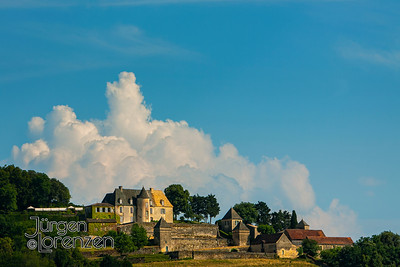 Painterly Chateau France
