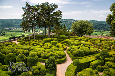 Gardens of Marqueyssac, France
