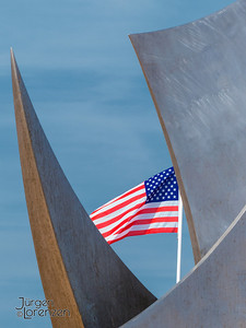 American Memorial at Omaha Beach, Normandy