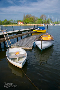 Small Boats at Dock in Arnis, Germany