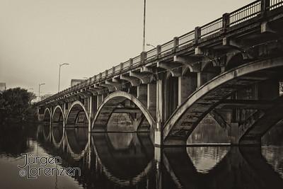 Austin, Texas Lamar Blvd Bridge