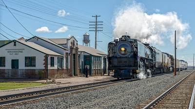 Union Pacific 844 Living Legend Arrives Shoshone, Idaho