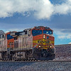 BNSF 4423 and 7633 Rolls Across Arizona