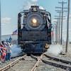 Union Pacific 844 Living Legend Arrives Gooding, Idaho