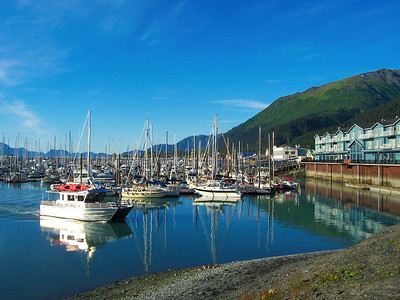 Seward Small Boat Harbor, Alaska