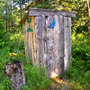 Blue Moon Outhouse