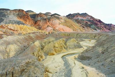 Artist's Palette Crevices & Curves, Death Valley National Park