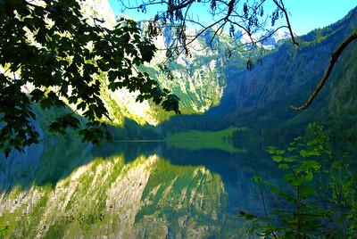 Obersee, Berchtesgadener Land, Germany