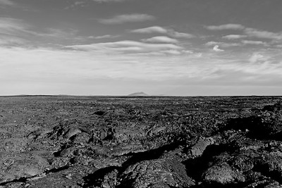 Craters of hte Moon NP, B&W