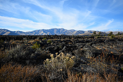 View from Tree Molds Trail, Craters of the Moon NP