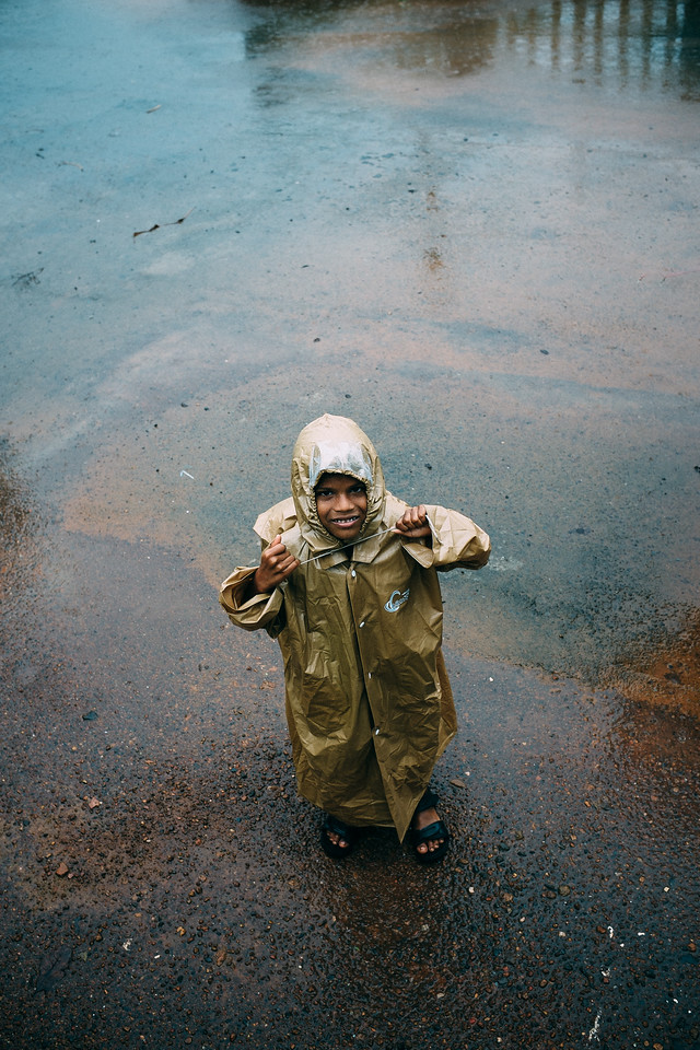 Raincoat Mischief