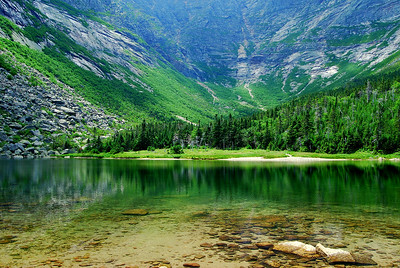 Chimney Pond, Mt. Katahdin Trail, Maine