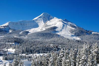 Lone Peak, Big Sky, Montana