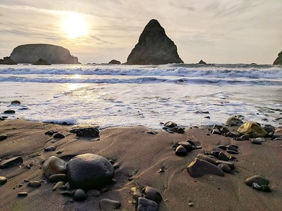 Big and Little Rocks, Brookings, Oregon