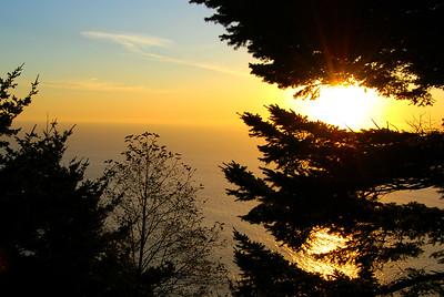Pacific Sunset along Coast Highway 101, Manzanita, Oregon