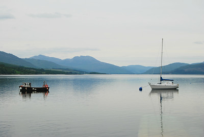 Mooring at Stromeferry, Scotland