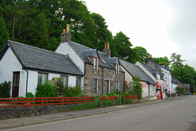 Main Street, Lochcarron, Ross Shire, Scotland